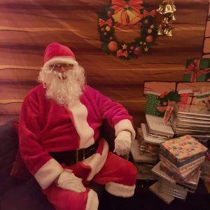 Santa in his Grotto 2019